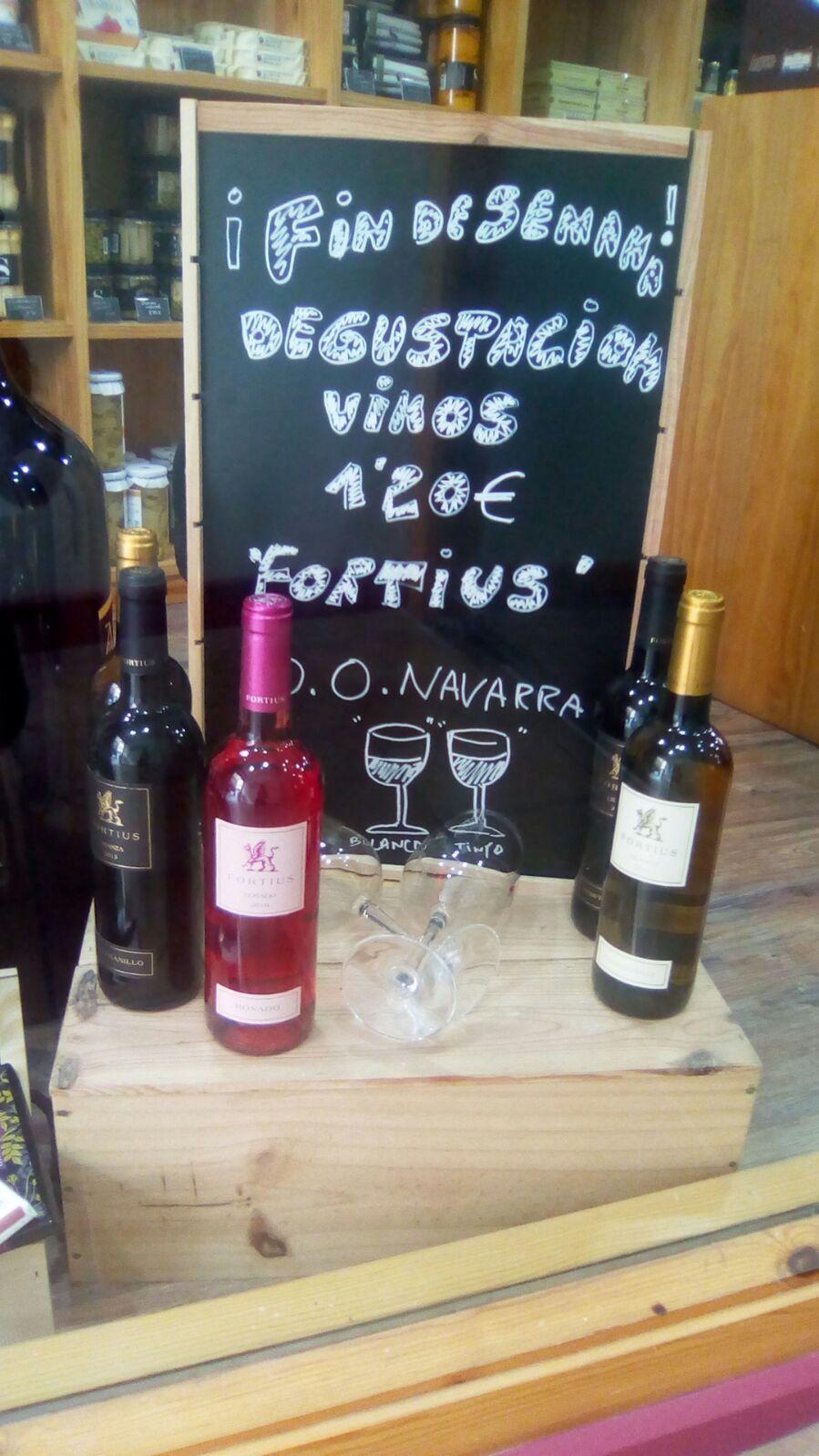 Desgustacion vinos fortius