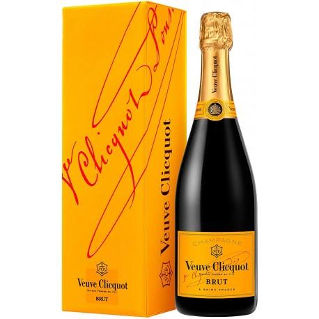 Champagne Veuve Clicquot Brut en estuche de Regalo
