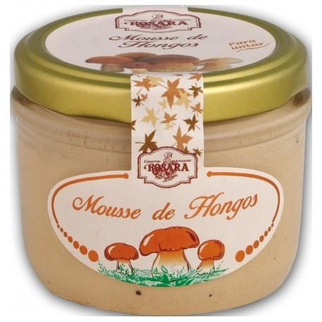 Mousse de Hongos Boletus Edulis Rosara Tarro de 145 ml