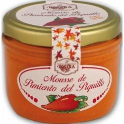 Mousse de Pimientos del Piquillo Rosara Tarro de 125 grs.