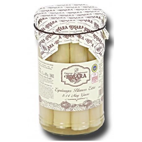 Espárragos de Navarra 8/14 Frutos Muy Grueso Rosara Bombona 1062 ml
