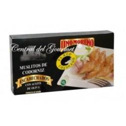 Muslitos de Codorniz Escabechados con Aceite de Oliva Lino Moreno