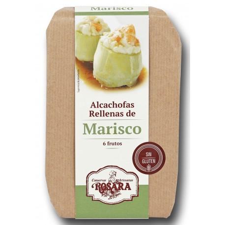 Alcachofas Rellenas de Marisco Rosara 400 grs.