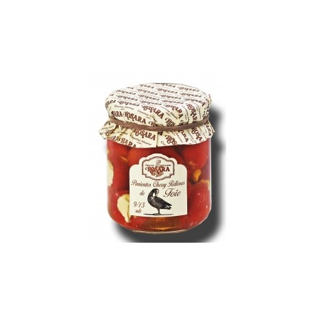 Pimientos Cherry Rellenos de Foie Rosara 185 Grs.