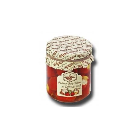Pimientos Cherry Rellenos de Queso Rosara 185 grs.