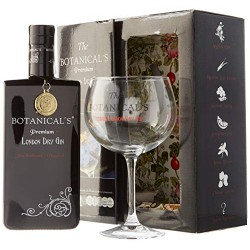 Estuche de Ginebra The Botanical's Ginebra Premium London  + Copa