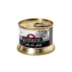 Bloc de Foie Gras de Tato 130 gr, 98% de Foie de Katealde
