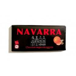 Chocolate Negro con Naranja Navarra 125 grs.