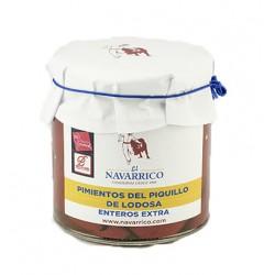 Pimientos del Piquillo de Lodosa Enteros El Navarrico 250 ml