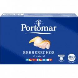 Berberechos al Natural Portomar 25/35