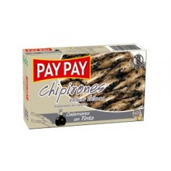 Chipirones Enteros Rellenos en Tinta PAY PAY