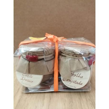 Pack de Pate de Cerdo Ibérico y Cebolla Confitada La Cuna