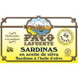 Sardinas en Aceite de Oliva Paco La Fuente