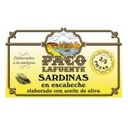 Sardinas en Escabeche Elaborado con Aceite de Oliva Paco la Fuente