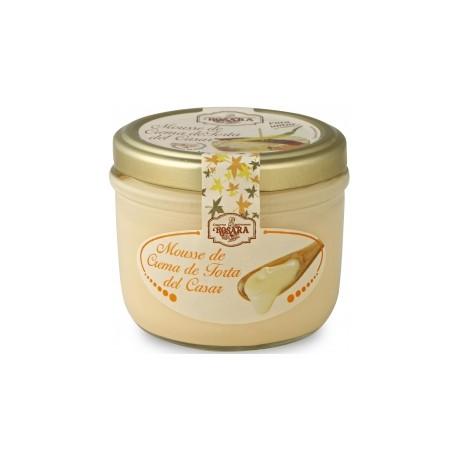 Mousse de Crema de Torta del Casar Rosara 125grs