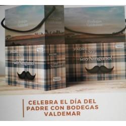 Caja de Regalo Día del Padre 3 Vinos Conde Valdemar