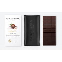 Chocolate Negro con Nibs y Flor de Sal Natural Pancracio 100gr