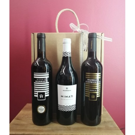 Selección 3 Botellas Vinos Bodega Inurrieta