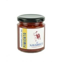Mermelada de Pimiento el Navarrico 260 grs.