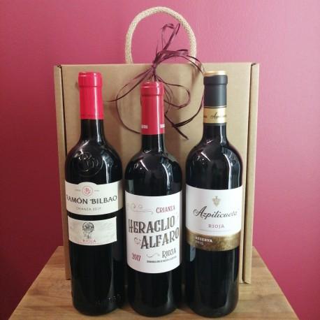 Vinos rioja regalo