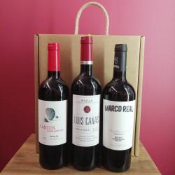 Estuche Regalo Vinos de Rioja Especial Crianzas