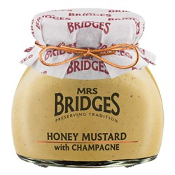 Honey Mustard with champagne Mrs Bridges 200gr