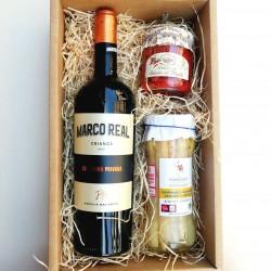 Cesta de Regalo Vino y Delicatessen C&G ONE